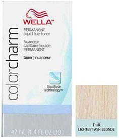 Wella Color Charm Hair Toner T18 White Lady Lightest Ash