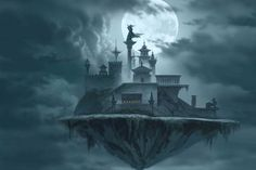 1000 Images About Castles On Pinterest Fantasy Art Fantasy Castle And Castle In The Sky