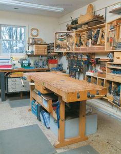 Small Woodworking Studio on Pinterest | Woodworking Shop, Woodworking ...
