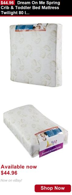 Mattress Pads And Covers Dream On Me Spring Crib Toddler Bed Twilight 80