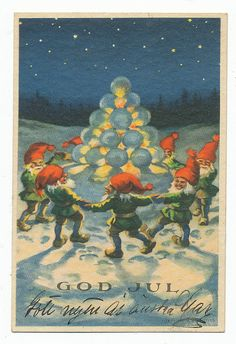 God Jul On Pinterest Norwegian Christmas Gnomes And Yule