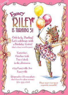 Fancy nancy birthday party invitations best birthday cake 2018 flickriver designdreametsy s photos ged with fancynancy filmwisefo