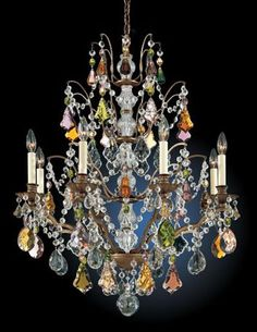 Schonbek Gallia Collection 28 Wide Crystal Chandelier Lampsplus