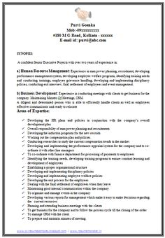 marketing resume resume and format html on pinterest