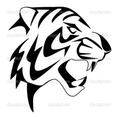 tiger face coloring pages and tigers on pinterest