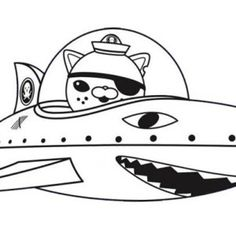 coloring pages the octonauts drawing kids play games
