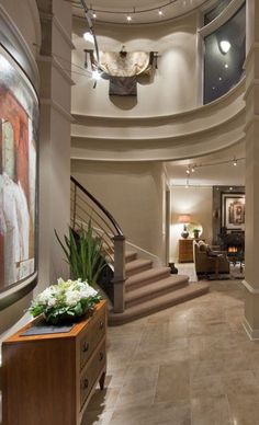 1000 Images About Staircases And Foyers On Pinterest