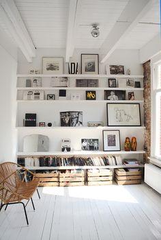 Gallery shelves