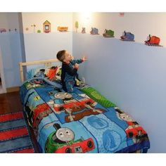 Roommates Rmk1035scs Thomas The Tank Engine And Friends L Stick Wall Decals