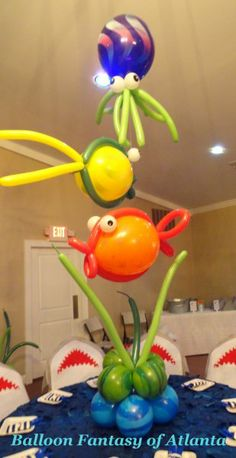 1000 Images About Balloon Centerpieces On Pinterest