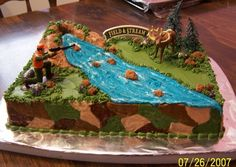 1000 Ideas About Deer Hunting Cakes On Pinterest