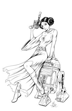 star wars princess leia princess leia and coloring pages on pinterest