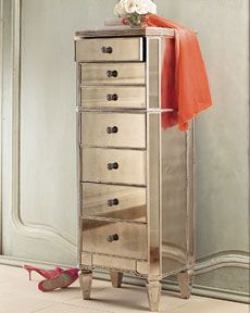 Pier1 Hayworth Collection Lingerie Chest In Antiqued