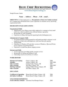resume objective statement examples receptionist newsound co