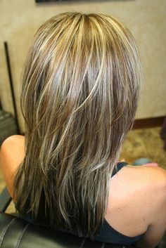 Blending Gray Hair With Highlights