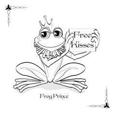 1000 images about frogs on pinterest frog coloring pages cute