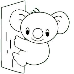 alphabet coloring pages koalas and coloring pages on pinterest