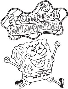 1000 images about coloring book pages on pinterest spongebob