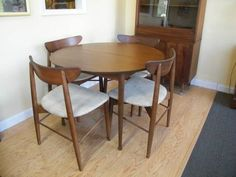 MCM Mix Dining Room On Pinterest Mid Century Chairs And Dining Sets