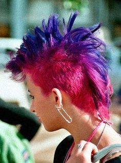 Hair Styles On Pinterest Mohawks Punk And Punk Girls