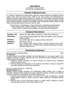 1000 images about information technology it resume templates