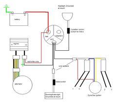 Simple Wiring Diagram Honda CB550 | Typo & Biker ArT | Pinterest | Garage, Simple and Honda