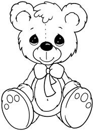 1000 images about teddy bears coloring art print pages colouring