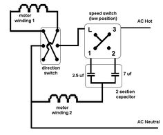 Ceiling Fan Speed Switch Wiring Diagram | Electrical