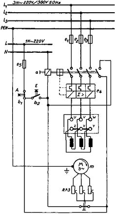 Delta Wye Motor Connection Diagram | E | Pinterest | Motors