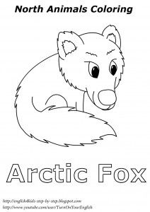 arctic animals colouring sheets and animal coloring pages on