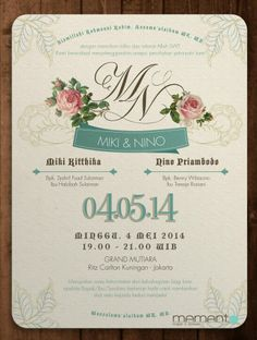 Contoh Invitation Card Weeding Party Lowongan Kerja Terbaru