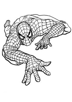 1000 images about spiderman coloring pages on pinterest