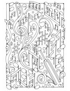 1000 images about music coloring pages on pinterest coloring