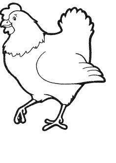 chicken coloring page chicken coloring pages coloringpages1001