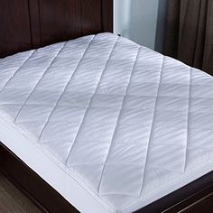 Puredown Mattress Pad Topper Box Quilted 500 Thread Count 100 Cotton Top