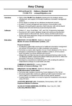 1000 images about resume samples on pinterest resume resume