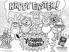 Yo Gabba Gabba Coloring Book: Coloring Book for Kids and Adults ... | 181x236