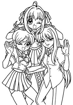 mermaid melody coloring pages and coloring on pinterest