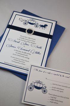 elegant fairytale wedding invitations suite - Fairy Tale Wedding Invitations