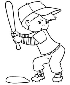 coloring pages coloring and baseball on pinterest
