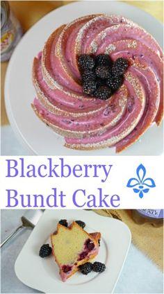 Blackberry Bundt Cak