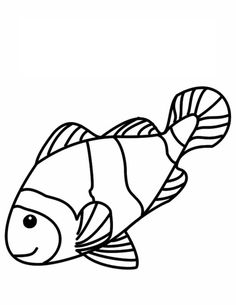 clownfish coloring page aaldtk