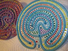 1000 Images About Finger Labyrinth On Pinterest