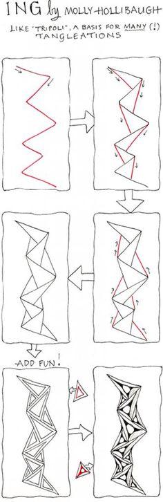 Muster Mixer 11 Freude Mit Zentangle Art Pinterest