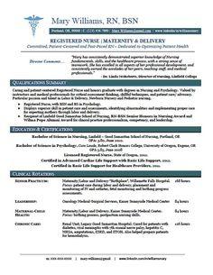nursing resume resume and healthcare administration on pinterest