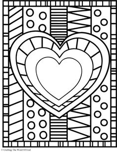 1000 images about valentine 39 s day on pinterest coloring pages