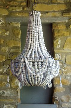 Hellooow Handmade Ceramic Bead Chandeliers Frill Design Www Co Za Pinterest Ceramics Beads And