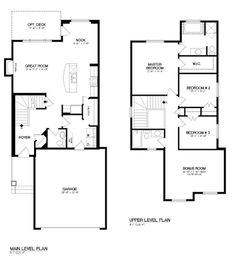 28868e98cf16155fd5d2e1baf169ed2d Broadview Homes The Claremont Ii Is A 1721 Sq Ft Duplex With 3 On Open