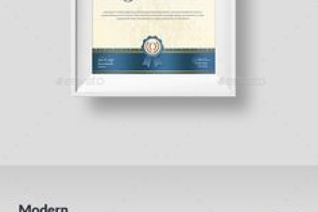 Psd Certificate Template  Portrait Certificate Templates Psd     Certificate   Modern  Certificate Templates And Psd Templates