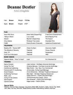 resume sample resume and resume examples on pinterest